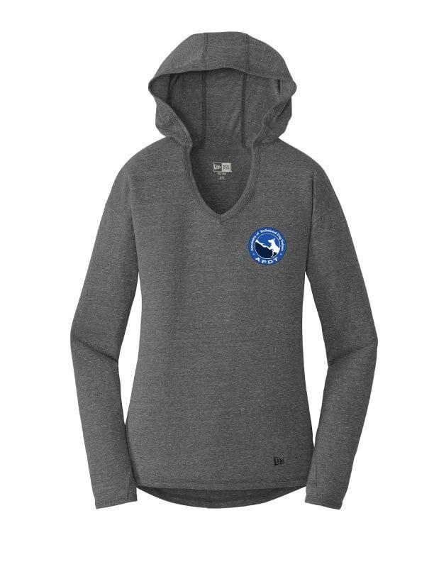 Hooded V-Neck Pullover - Small