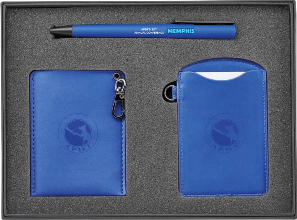 Travel Set (Pen, Luggage Tag and Business Card Holder)