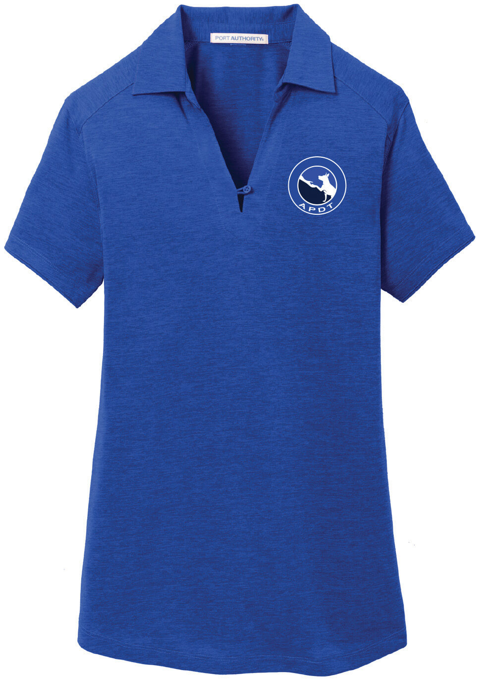 Women's Heather Performance Polo Large